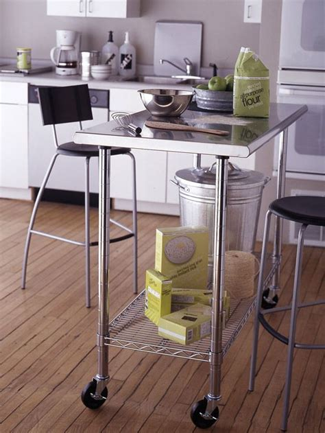Small Kitchen Island Table 17 Best Images About Small Kitchen Island Work Table