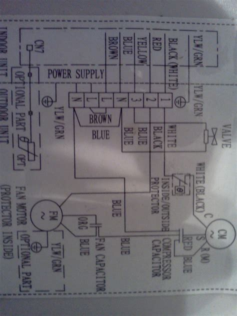 samsung split air conditioner wiring diagram efcaviation
