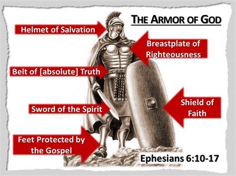 Armoir Of God by Spiritual Warfare You Put On The Whole Armor Of God