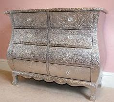 glitter furniture on glitter dresser hanging