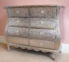 glitter furniture on glitter dresser hanging