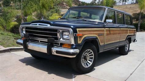 Woody Jeep Jeep Grand Wagoneer Woody 1 Owner New Paint Wood Amc