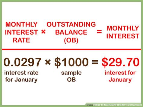 Credit Card Formula Interest 5 easy ways to calculate credit card interest wikihow