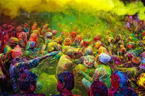 holi festival india late february march on the last