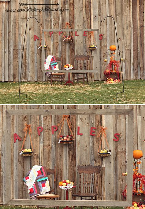 Handmade Photo Booth - fall photo booth backdrop ideas handmade hilarity