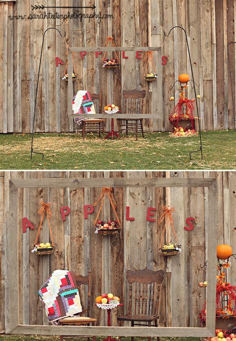 Handmade Photo Booth - fall photo booth backdrop ideas handmade hilarity
