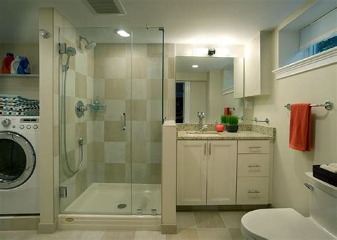 Bathroom With Laundry Room Ideas by Ideas For Combining A Bathroom With A Laundry Room For A