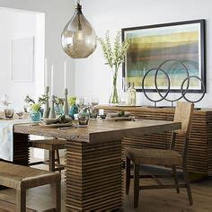 crate and barrel dining room table bedroom ceiling fan kitchen nook on pinterest polished nickel breakfast