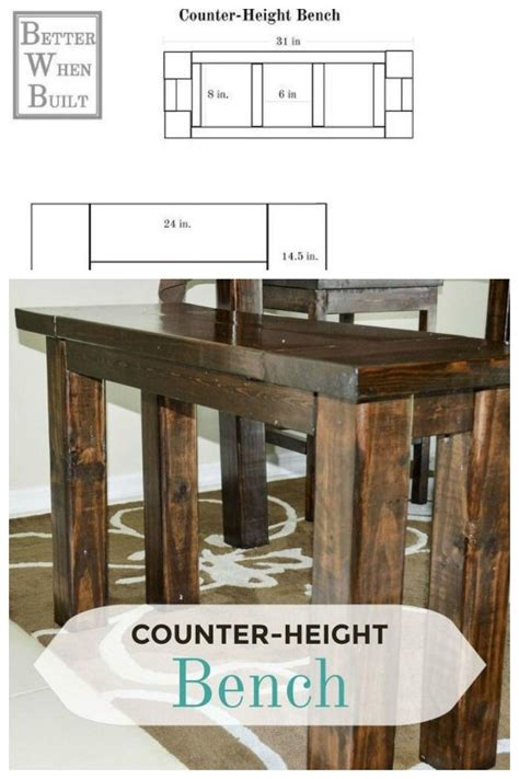 counter height bench plans the 25 best counter height bench ideas on pinterest bar