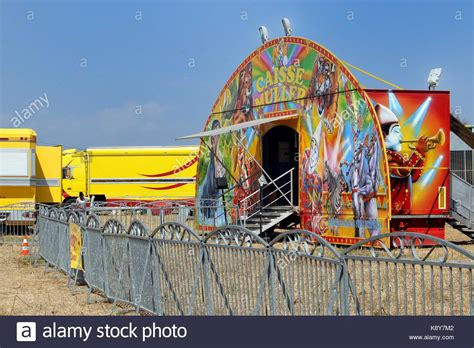 circus circus front desk circus big top tent trucks stock photos circus big top