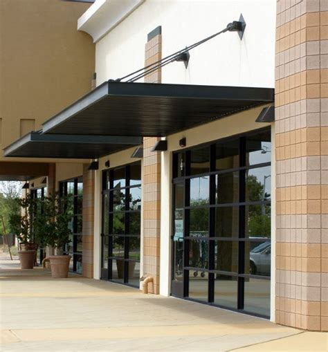 metal house awnings 25 best ideas about commercial garage doors on pinterest