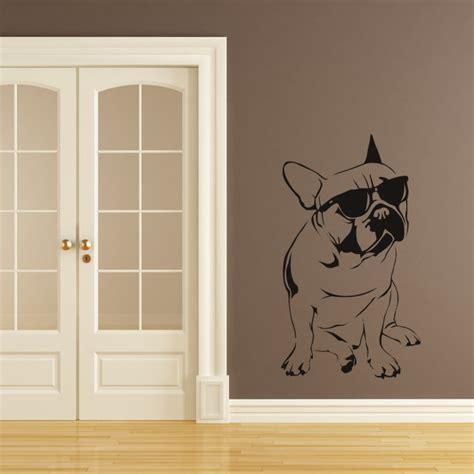 wall stickers ebay bulldog sunglasses dogs wall decal wall