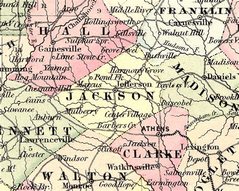 Jackson County Ga Records Georgiainfo