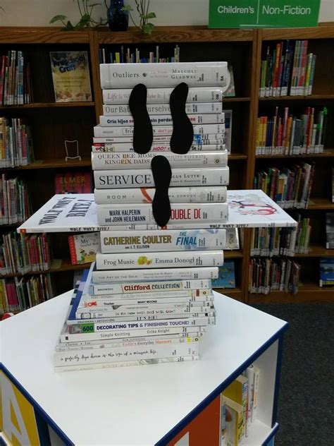 book display ideas ideas displays for small academic libraries