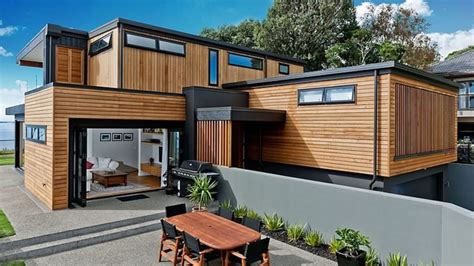 design your own home in auckland enhanced views from the rothesay bay house in auckland new zealand home design lover