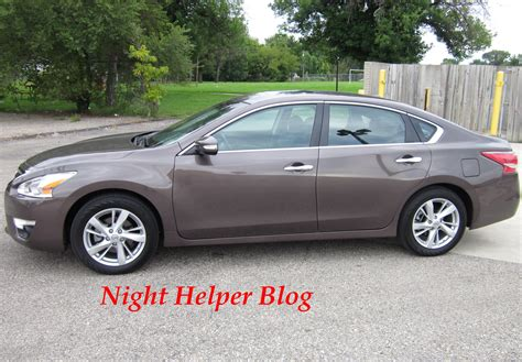 brown nissan altima the 2013 nissan altima 2 5 sl pure drive review night