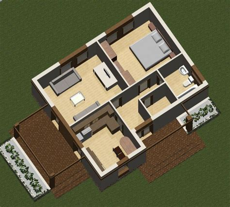 5 rooms house plans two room house plans matching any age s needs houz buzz
