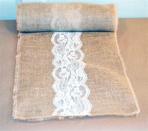 burlap table runner with lace 35 ways to a burlap table runner guide patterns