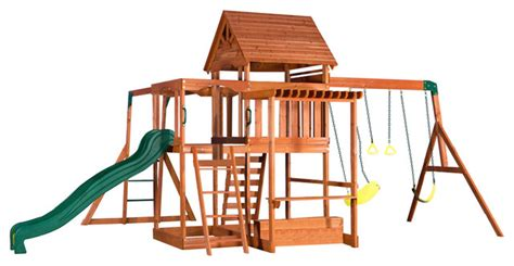 backyard discovery tanglewood cedar wooden swing set backyard discovery monticello all cedar wood playset contemporary playsets and swing