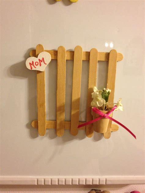 picket fence  popsicle sticks popsicle stick crafts