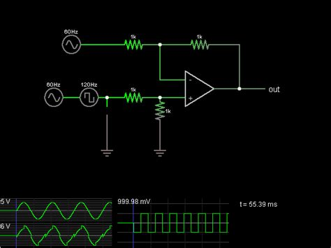 simulated inductors using differential lifiers differential lifier with op s circuit simulator
