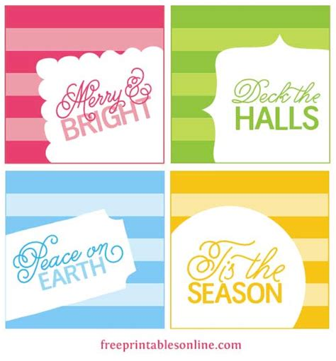 printable quote tags christmas gift tag quotes quotesgram