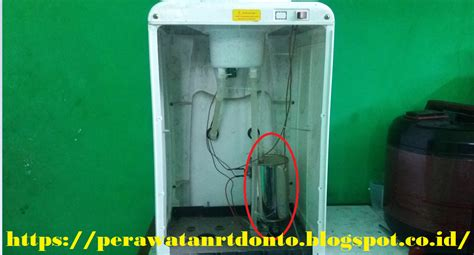 Tabung Pemanas Dispenser Sanken fungsi komponen elektronik dispenser air mineral alat