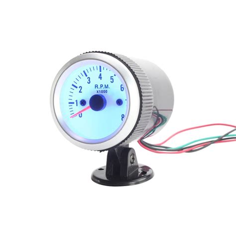 Alarm Motor Merk Taco Bell 52mm car auto tacho tachometer blue digital led