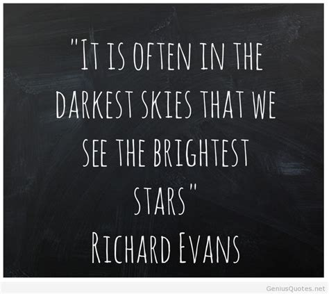 Sky dark quote HD