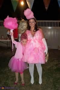 Cotton candy homemade halloween costume