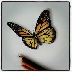 Butterfly pencil drawing by dee deviantart traditional art drawings