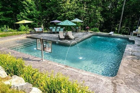 inground pool ideas inground swimming pool patio ideas inground swimming pool