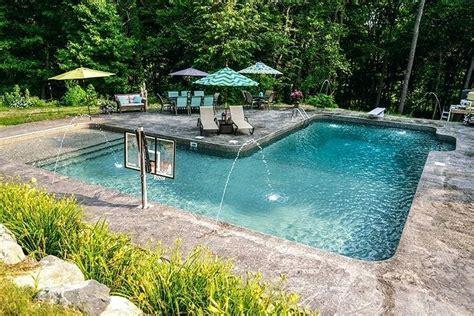 backyard designs with inground pools inground swimming pool patio ideas inground swimming pool