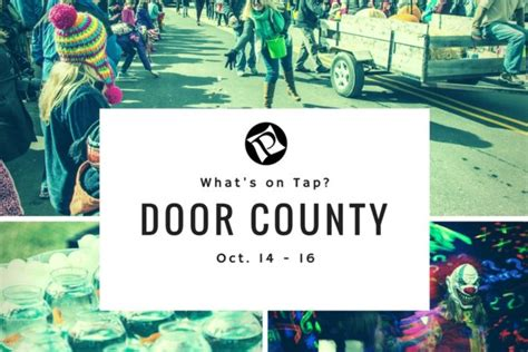 Door County Fall Festival by Fall Haunted Mansion More Weekend Plans Door