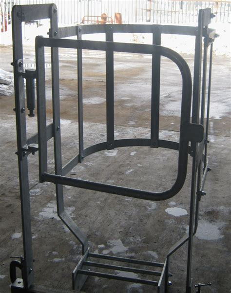 safety gate components of the modular design access ladders