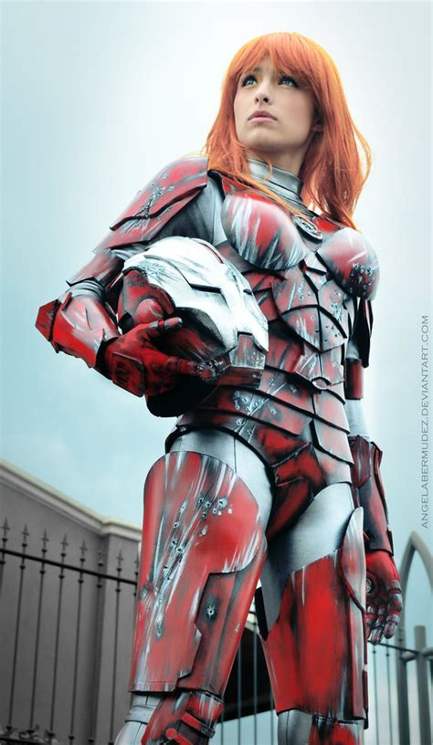 pepper potts iron man rescue armor angela