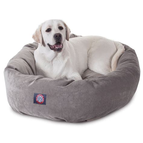dog bed reviews product review majestic pet bagel dog bed paws down tails