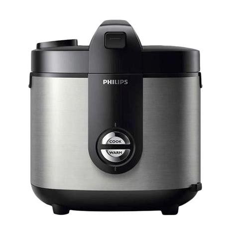 Philips Viva Col Jar Rice Cooker Hd3128 33 Premium Hitam Silver jual philips hd3128 33 viva collection jar rice cooker