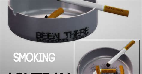 a3ru various drug clutter sims 4 downloads 77objects smoking ashtray and cigarette box set sims 3