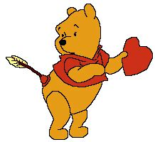 imagenes de winnie pooh con corazones winnie the pooh animated images gifs pictures