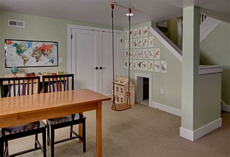 Finished Basement Ideas On A Budget Remodelaholic Home Sweet Home On A Budget Basement Rec Rooms