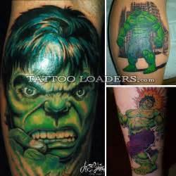 incredible hulk tattoos tattoo loaders tattoo designs
