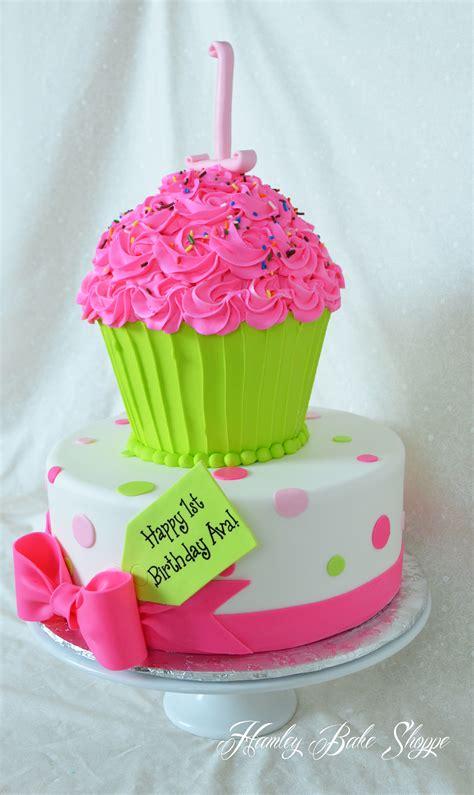 Cupcake Birthday Cake by Cupcake Cake Cakecentral