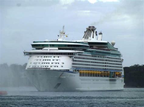 explorer of the seas family cruises australia two royal caribbean cruise ships meet in australia for