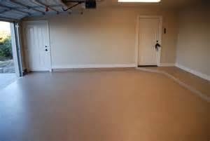 Garage Floor Paint Designs Tan Epoxy Painted Garage Floor Ideas Flooring Ideas