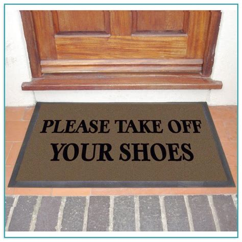 Take Your Shoes Doormat by Welcome To The Lake Doormat Home Improvement