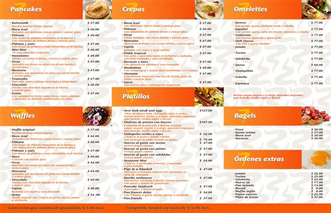 Pancake House Menu by Cameras For In The House Best Trends