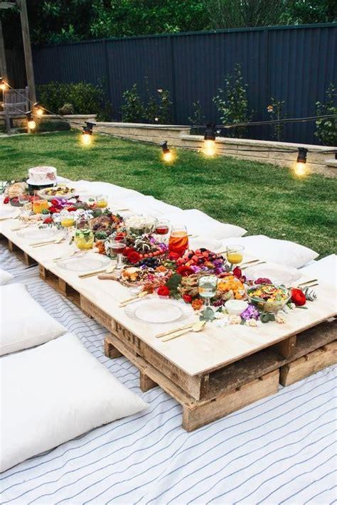 Creative Fun Ideas To Enjoy Summer Garden Party Summer Backyard Ideas