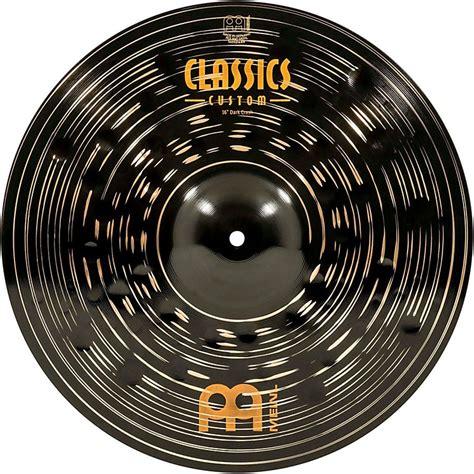 Meinl Cymbal 16 Inch Crash Classic Custom Metal Drum Aksesoris meinl classics custom crash cymbal 16 in musician s friend