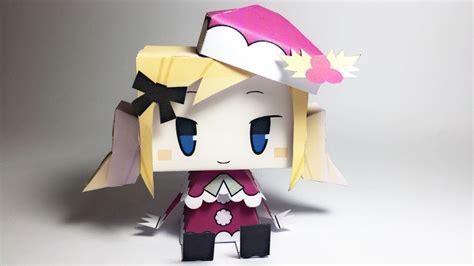 anime paper crafts anime santa claus paper crafts turorial